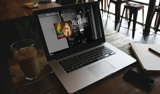 Karen Matheson : Website design and build